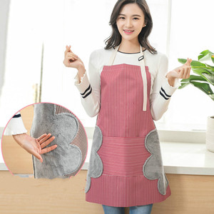 Wholesale Senyue pc Brand New Japanese Style Wiping Hands Apron Adjustable Strap Design Neck Band Suitable For Kitchen Pinafore