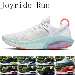 Wholesale 2019 Joyride Run Mens Running Shoes Triple Black White Platinum Tint University Red Racer Blue Women sports Athletic Shoes size