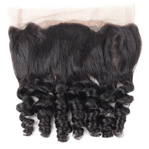 Wholesale YAHLIGS Peruvian Body Loose Wave virgin Human Hair Weave Three Part Top Lace Closure Hair Bleached Knots Hair Pieces Fast Shipping J32