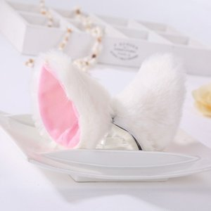 Lolita Fluffy Ear Cosplay Hair Clips Plush Cat Animal Ears Hairpins Party Performance Costume Accessories