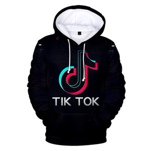Wholesale BTS D Tik tok software New Print Hooded Women Men popular Clothes Harajuku Casual Hot Sale Hoodies sweatshirt XL