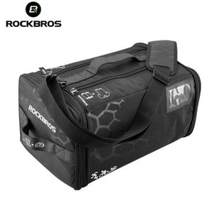 Wholesale ROCKBROS Cycling Triathlon Gym Race Bag With Rain Cover Waterproof Training Fitness Sports Bag Big Capacity Backpack Handbag