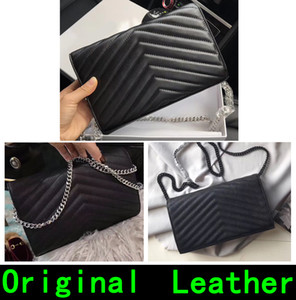 Wholesale Designer Handbags Top quality brand Designer luxury handbags purses sheepskin caviar women handbag wallet Genuine Leather Come With box