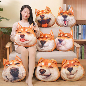 Wholesale 3D Funny Dog Shiba Inu Stuffed Animal Plush Toys Pillow Car Decoration Valentine s Day Gifts Cute Hot Toys Girlfriend Birthday Gifts