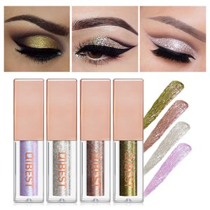 Wholesale 2019 New Color Pearl Waterproof Shiny Eye Shadow Diamond Pearlescent Liquid Natural Eye Shadow