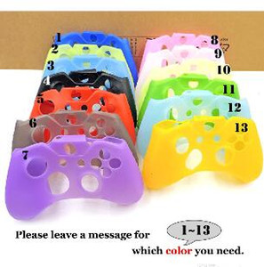 2019 for XBox One X S Controller Silicone Skin Case + Analog Thumb Stick Grip Cap for X Box One 1 X S Slim Joystick