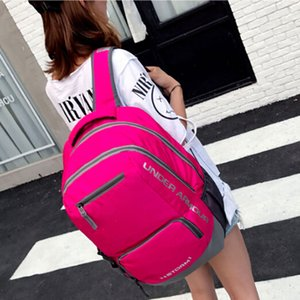 Wholesale Unisex U A Backpack Boys Girls School Bag Teenager Shoulder Bags Under Schoolbag Outdoor Backpacks Travel Sports Laptop Bags Daypack New