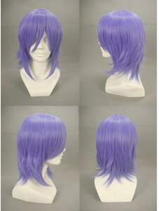 FREE SHIPPIN +++ Xerxes Break Light Purple Anime Cosplay wig party