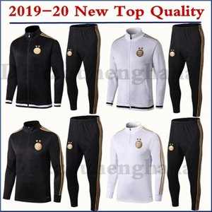 Wholesale 2019 men Algeria MAHREZ training suit soccer BOUNEDJAH kids Survetement maillot de foot FEGHOUL sportswear set football tracksuit