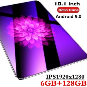Wholesale 10.1 inch tablet PC 3G 4G Android 9.0 Octa Core Super tablets Ram 6G ram+128G rom WiFi GPS 10 tablet IPS 1920*1280 Dual SIM GPS