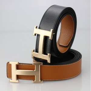 Wholesale 2019 Hermès Brand Designer belts Women Men Belt Leather luxury Belt +Box