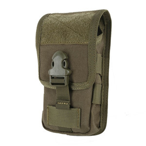 Wholesale Multifunction Military Tactical Camo Belt Pouch Bag Case Cover For Mobile Phone Outdoor Running Waist Bag D j2