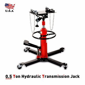 1660lbs 2 Stage Hydraulic Transmission Jack Stand Lifter Hoist For Car Lift bbbbbggg
