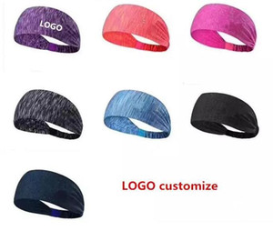 Wholesale Custom Logo For Sport Headband Under Sweat Wicking Stretchy Athletic Bandana Headscarf Yoga Headband Head Wrap Best for Sports Exercise