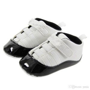 Spring and Autumn Baby Shoes PU Leather Newborn Boys First Walker Shoes Infant Prewalker Sneakers Shoes