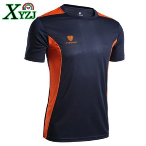 Men Brand Tennis Shirt Outdoor Sports Running Workout Jogging Clothing Fitness Tees Male Badminton Short Sleeve T-shirts Tops on Sale
