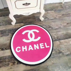 Wholesale 2020 New Fashion Round cm Fashion Small Floor Mat Living Room Bedroom Round Kitchen Mat Non slip Bathroom Mat