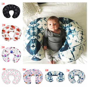 Wholesale body pillows covers resale online - 7styles Feeding Nursing Pillowcase U Shaped Baby Food Maternity Case Neck Care Newborn Girls Boys Breastfeeding bed Pillow Cover FFA2886