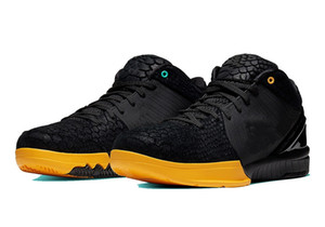 New Black Mamba Python snakeskin shoes for sale With Box best sneakers Basketball shoes store wholesale US7-US12