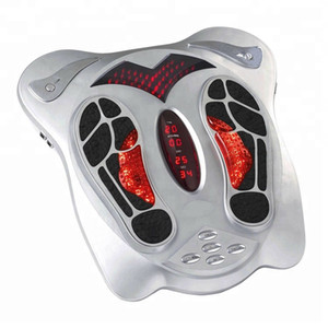 Wholesale Health protection instrument electric foot massage machine with electrode paster Infrared TENS EMS foot massager