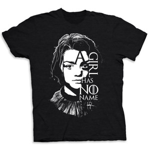 Arya Stark A Girl Has No Name Men's Tee- Tshirt- T shirt Game of Thrones-GOT- Funny free shipping Unisex Tshirt top