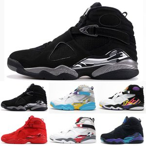 Wholesale 2019 Men Boots Shoes s Valentines Day Aqua Countdown Pack Mens retro retros Trainers Designer Sports Sneakers Boots Size