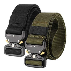 Wholesale Men S Nylon Canvas Belt Outdoor Multi Function Belt with Quick Release Buckle Length Cm Width Cm