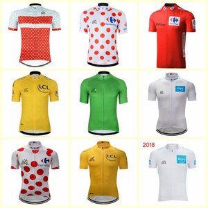 Wholesale 2019 TOUR DE FRANCE cycling jersey pro team Mens short sleeve shirt quick dry bicycle clothing mtb bike maillot ropa ciclismo C0140