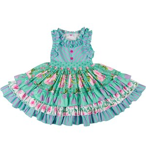 Wholesale Bulk Baby Girl Summer Girls Dress Without Headband Princess Party Clothing Beautiful Remake Dress Lyq803 Y19051003