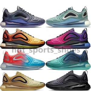 Wholesale Hot New Designer Casual Shoes Men Women Black Gold Red Northern Lights Sunrise Sunset Rainbow Triple White Sport Sneaker Trainer Size