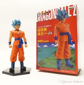 Wholesale Nicegift Japan Cartoon movie Dragon Ball Figure Gokou Goku Action Figure toy for kids gift toys Christmas party supply