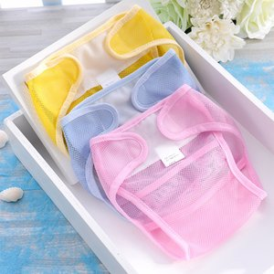 Wholesale 1PC Summer Baby Cloth Adjustable Baby Diaper Training Pants Toddler Infants Swim Diaper Reusable Washable Pool Cover Unisex