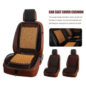 Wholesale Car Seat Cover Cushion Auto Vehicle Wooden Bead Single Piece Breathable Cool Jumper Pad Universal Car Mat Accessory Summer