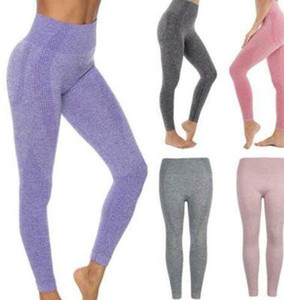 Wholesale High Elastic Breathable Fast Drying Sweat Absorption Seamless Yoga Pants Tights Bodysuit Womens Gym Leggings Quality