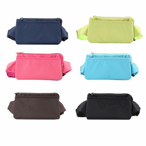 Wholesale Universal inch Waist Hip Cloth Case For Iphone XS MAX XR X Plus S Galaxy Note9 S9 S8 Holster Flip Belt Phone Pockets Pouch