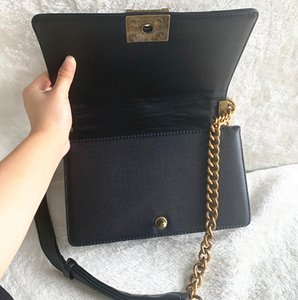 Wholesale Classic High Quality Flap Chain Bag Designer Bags Women Plaid Chain bag Handbag Real Leather Purse Crossbody Shoulder Messenger Bag cm