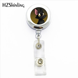 Wholesale 2019 New White Cat badge Holder Lovely Cat ID Holder Doctor Bagde Reel Lovely Cat ID Holder Doctor Bagde Reel