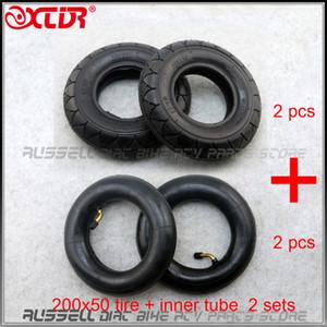 200x50 Tire + inner tube for Folding Electric Scooter 8-inch E-Scooter Pocket Bike Razor E100 E150 E-200 2sets