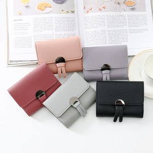 Wholesale NEW Fashion short Women Wallets High Quality PU Leather Women s Purse and Wallet Design Lady Party Clutch Female Card Holder