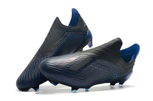 Wholesale Boutique X FG Football Boots SKELETALWEAVE X Tango TF FG Men Soccer Shoes Indoor Outdoor Dark Blue Soccer Shoes