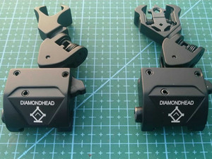 tactical Pop-up side metal sight Folding Battle Sight Front and Rear Sights COMBO Back-up Sight for airsoft hunting