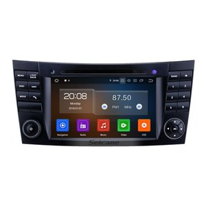 7 inch FOR 2002-2008 Mercedes Benz W211 Touchscreen Android 9.0 GPS Navi Radio Bluetooth Carplay support TPMS Rearview camera OBD2 CAR DVR on Sale