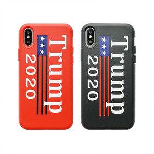 Wholesale USA Trump Phone Case Shockproof TPU Case Protector Fashion American President Election Phone Shell For iPhone X XR XS MAX