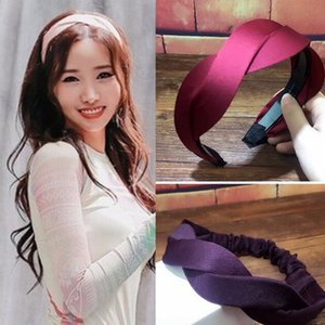 Trendy Handmade Woven Hairband Wave Hair Head Hoop Band Simple HeadBand for Women girl Bangs Hairwear hair accessories headdress