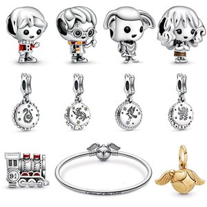 Wholesale 2019 New Harry Potter Hermione Granger Sterling Silver Little People Dobby House Elf Charm Fit Pandora Bracelet DIY Jewelry