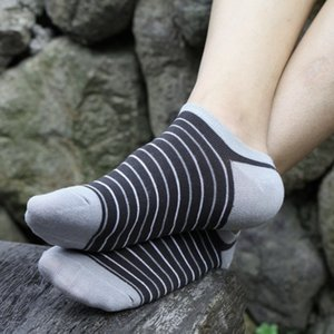 Wholesale 5 Pairs Men Bamboo Fiber Loafer Boat socks Liner Low Cut No Show harajuku calcetines compression socks regalos para hombre