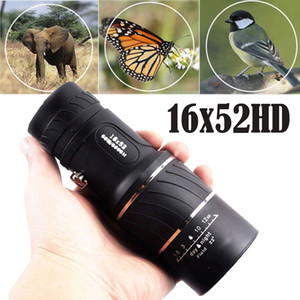 Wholesale PESTORY Day Night Vision x52 HD Monocular Dual Focus Optics Zoom Telescope m m for Birds Watching Hunting Camping Hiking