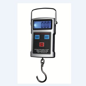 Wholesale LCD Digital Hook Scale kg g Electronic Hanging Scales With Tape Measure Travel Luggage Anti water Keyboard Weighing Balance