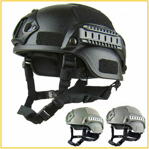 Wholesale Quality Lightweight FAST Helmet Airsoft MH Tactical Helmet Outdoor Tactical Painball CS SWAT Riding Protect Equipment