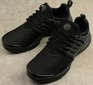 Presto Blackout Mens Running Shoes Ultra BR QS Prestos Triple Black Outdoor Jogging Women Trainers Sports Sneakers Size Us 5.5-12 on Sale